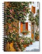 La Strada Al Sole Spiral Notebook