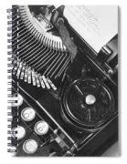 La Tecnica - The Typewriter Of Julio Spiral Notebook
