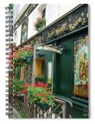 La Terrasse In Montmartre Spiral Notebook