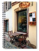 La Tinta Cafe Spiral Notebook