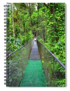 La Tirimbina Suspension Bridge Spiral Notebook