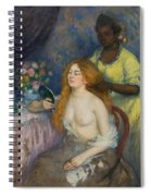 La Toilette Spiral Notebook