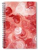 La Vie En Rose Spiral Notebook