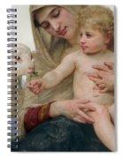 La Vierge A Lagneau Spiral Notebook