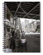 Laboring Under The Bridge  Spiral Notebook