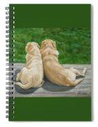 Labrador Lazy Afternoon Spiral Notebook