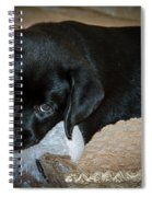 Labrador Puppy Spiral Notebook