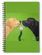 Labs Like To Share 2 Spiral Notebook