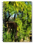 Laburnum By The River Spiral Notebook