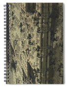 Labyrinth Dimensions 666 Spiral Notebook
