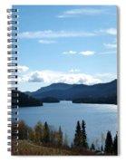 Lac Des Roches Spiral Notebook