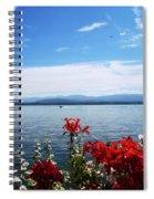 Lac Leman - Switzerland Spiral Notebook