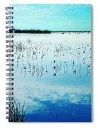 Lacassine Nwr Blue Pool Spiral Notebook