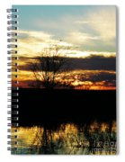 Lacassine Painted Sunset Spiral Notebook