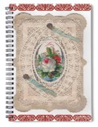 Lace And Roses Spiral Notebook