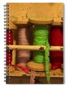 Lace Bobbins Spiral Notebook