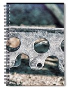 Lace I Spiral Notebook