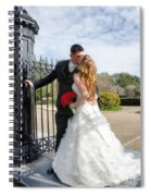 Lacey And Adam Wedding 1 Spiral Notebook
