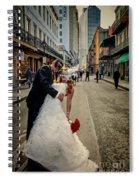 Lacey And Adam Wedding 2 Spiral Notebook