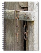 Ladder Chain Color Spiral Notebook
