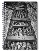 Ladder To The Treehouse Spiral Notebook