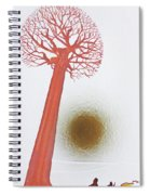 Laden With Gold Spiral Notebook