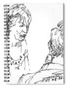 Ladies Chatting Spiral Notebook