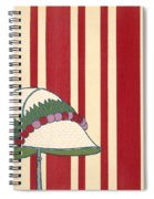 Ladies Hat, From Les Robes De Paul Spiral Notebook