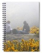 Dublin In The Mist Spiral Notebook