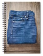 Ladies' Jeans Spiral Notebook