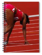 Ladies Get Set Spiral Notebook