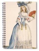 Ladies Turkish Style Evening Dress Spiral Notebook