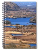 Ladies View Killarney National Park Spiral Notebook