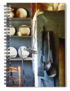Ladles And Spatula In Kitchen Spiral Notebook