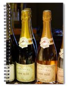 Laduree Champagne In Paris France Spiral Notebook
