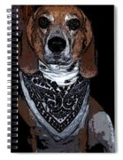 Lady 6 Spiral Notebook