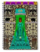 Lady Bear In The Jungle Spiral Notebook
