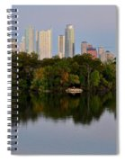 Lady Bird Lake In Austin Texas Spiral Notebook