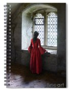 Lady By The Window Spiral Notebook