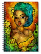 Lady Creole Spiral Notebook