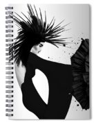Lady D 2 Spiral Notebook