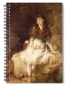 Lady Edith Amelia Ward Daughter Of The First Earl Of Dudley Spiral Notebook
