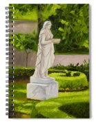 Lady Gandes Garden Spiral Notebook