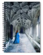 Lady In A Corridor Spiral Notebook