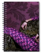 Lady In Pink... Spiral Notebook