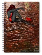Lady In The Lake Spiral Notebook