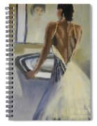 Lady In The Mirror Spiral Notebook