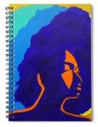 Lady Indigo Spiral Notebook