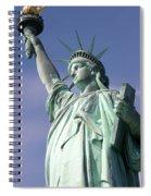Lady Liberty 01 Spiral Notebook