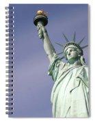 Lady Liberty 08 Spiral Notebook